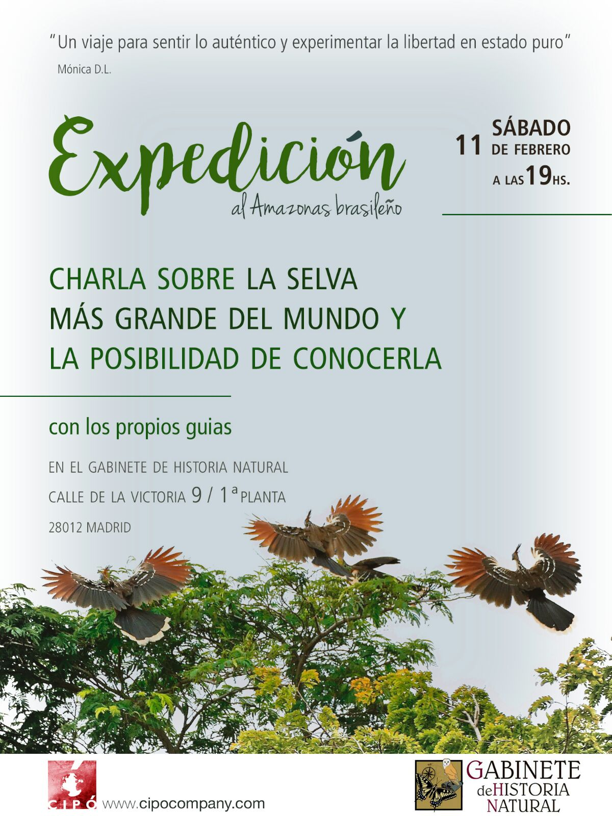 Expedición al Amazonas Brasileño