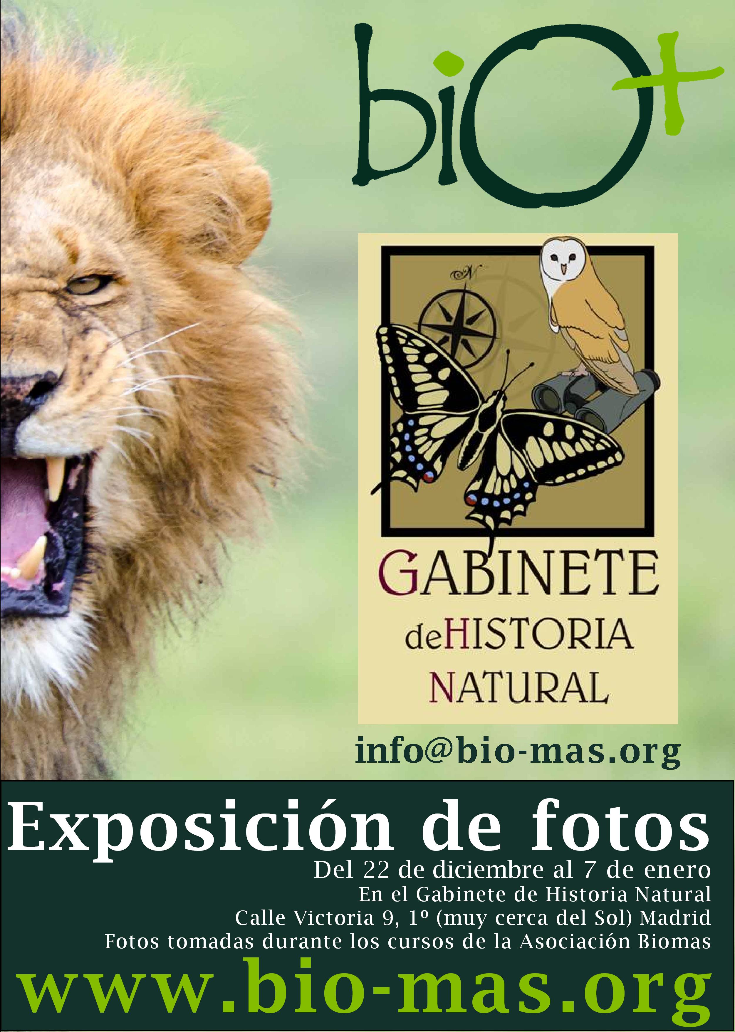 Exposición bio+ 2017
